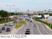 Купить «Улица Спешилова в Перми», фото № 7622679, снято 3 июня 2015 г. (c) Анатолий Косолапов / Фотобанк Лори