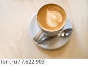 Чашка кофе с сердцем (2015 год). Редакционное фото, фотограф Малахов Алексей / Фотобанк Лори