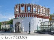 Кутафья башня Московского Кремля (2015 год). Стоковое фото, фотограф Елена Коромыслова / Фотобанк Лори