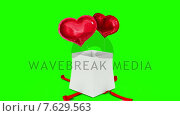 Купить «Digital animation of birthday gift exploding and revealing heart», видеоролик № 7629563, снято 31 мая 2020 г. (c) Wavebreak Media / Фотобанк Лори