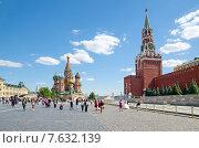 Купить «Москва. Красная площадь», эксклюзивное фото № 7632139, снято 18 июня 2015 г. (c) Елена Коромыслова / Фотобанк Лори