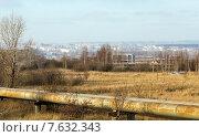 Купить «Вид на Нижнекамск», эксклюзивное фото № 7632343, снято 25 ноября 2014 г. (c) Сергей Лаврентьев / Фотобанк Лори