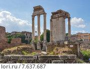 Руины храма Богини Весты в Риме (2012 год). Стоковое фото, фотограф Михаил Никитин / Фотобанк Лори