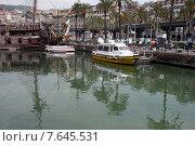 Причал в Старом порту Генуи. Италия, 2015. Редакционное фото, фотограф Tanya  Polevaya / Фотобанк Лори