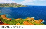 Купить «Средиземноморское побережье Франции», видеоролик № 7646519, снято 28 октября 2014 г. (c) Алексас Кведорас / Фотобанк Лори