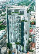 Бангкок с высоты. Здание отеля. Редакционное фото, фотограф Виталий Булыга / Фотобанк Лори