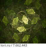 Абстрактные листья. Стоковая иллюстрация, иллюстратор Виктор Сухарев / Фотобанк Лори