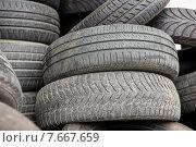 close up of wheel tires. Стоковое фото, фотограф Syda Productions / Фотобанк Лори