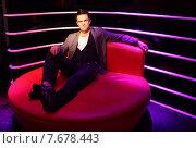 Berlin, Germany, Robbie Williams at Madame Tussaud's Wax Museum (2010 год). Редакционное фото, агентство Caro Photoagency / Фотобанк Лори