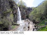 Купить «Кисловодск. Медовые водопады», фото № 7680435, снято 6 мая 2015 г. (c) Рябков Александр / Фотобанк Лори