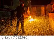 Литейное производство. Стоковое фото, фотограф Fadeev Dmitry / Фотобанк Лори