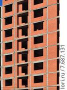 Купить «Монолитное строительство», фото № 7687131, снято 16 сентября 2014 г. (c) Сергей Трофименко / Фотобанк Лори