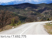 Дорога в горах. Стоковое фото, фотограф Оксана Зенит-Журавлева / Фотобанк Лори
