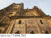 Санкт-Вита, которая находится рядом с Пражским Градом (2011 год). Стоковое фото, фотограф Irina Turshatova / Фотобанк Лори