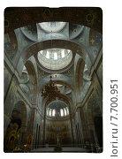 Купить «Собор Святого Пантелеймона в Новоафонском монастыре, Абхазия», фото № 7700951, снято 16 декабря 2018 г. (c) Борис Кавашкин / Фотобанк Лори