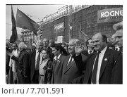 Купить «Геннадий Зюганов на митинге», фото № 7701591, снято 23 августа 2019 г. (c) Борис Кавашкин / Фотобанк Лори