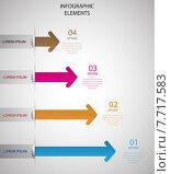 Infographic elements set. Vector. Стоковая иллюстрация, иллюстратор Liudmila Marykon / PantherMedia / Фотобанк Лори