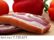 Купить «food breakfast meat smoke sausage», фото № 7735671, снято 22 августа 2019 г. (c) PantherMedia / Фотобанк Лори