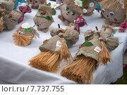 Купить «Традиционно русские куклы обереги из натурального природного материала», эксклюзивное фото № 7737755, снято 11 июля 2015 г. (c) Svet / Фотобанк Лори