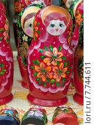 Купить «Матрёшка, русский национальный сувенир», эксклюзивное фото № 7744611, снято 11 июля 2015 г. (c) Svet / Фотобанк Лори