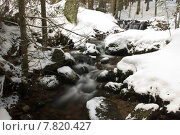 Купить «cold snow ice stream wich», фото № 7820427, снято 27 марта 2019 г. (c) PantherMedia / Фотобанк Лори