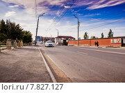 Улица Насрутдинова. Махачкала. Дагестан. Редакционное фото, фотограф Махсумов Шамиль / Фотобанк Лори