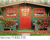 Купить «green red building plant flower», фото № 7832115, снято 27 июня 2019 г. (c) PantherMedia / Фотобанк Лори
