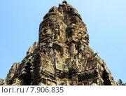 Купить «Прасат Байон, часть храмового комплекса Ангкор Кхмер», фото № 7906835, снято 19 июня 2018 г. (c) Сергей Петерман / Фотобанк Лори