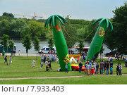 Купить «Праздник Сабантуй в Коломенском парке в Москве 18 июля 2015», эксклюзивное фото № 7933403, снято 18 июля 2015 г. (c) lana1501 / Фотобанк Лори