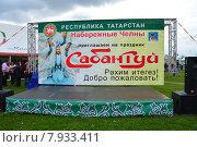 Купить «Праздник Сабантуй в Коломенском парке в Москве 18 июля 2015», эксклюзивное фото № 7933411, снято 18 июля 2015 г. (c) lana1501 / Фотобанк Лори