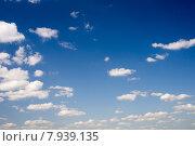Облака на небе. Стоковое фото, фотограф Ivan Dubenko / Фотобанк Лори