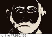 Старик. Стоковая иллюстрация, иллюстратор Александра Лисица / Фотобанк Лори