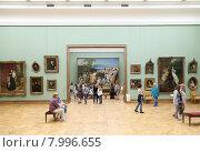 Купить «Зал Государственной Третьяковской галереи», фото № 7996655, снято 23 июля 2015 г. (c) Владимир Журавлев / Фотобанк Лори