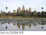 landmark asia temple wat cambodia. Стоковое фото, фотограф Alexander Scheible / PantherMedia / Фотобанк Лори