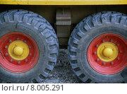 Купить «red yellow two transportation transport», фото № 8005291, снято 16 января 2019 г. (c) PantherMedia / Фотобанк Лори