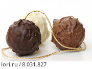 Купить «confection praline truffle chocolates tr», фото № 8031827, снято 24 июля 2019 г. (c) PantherMedia / Фотобанк Лори