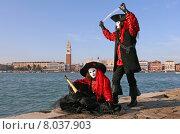 Купить «mask carnival venice pirate revetment», фото № 8037903, снято 21 августа 2019 г. (c) PantherMedia / Фотобанк Лори