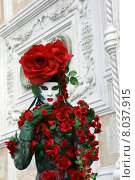 Купить «mask carnival venice roses revetment», фото № 8037915, снято 21 августа 2019 г. (c) PantherMedia / Фотобанк Лори