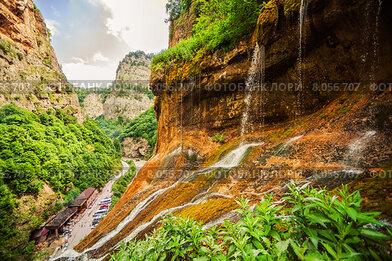 Чегемские водопады — группа водопадов на реках Адайсу, Сакал-Туп и Каяарты, Чегемский район Кабардино-Балкарии, Российская Федерация