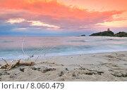 Купить «Bautiful sunrise on Sardinia», фото № 8060479, снято 20 марта 2019 г. (c) PantherMedia / Фотобанк Лори
