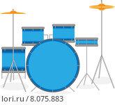 Купить «Барабанная установка», иллюстрация № 8075883 (c) Андрей Китайко / Фотобанк Лори