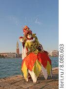 Купить «woman costume mask carnival venice», фото № 8080603, снято 21 августа 2019 г. (c) PantherMedia / Фотобанк Лори