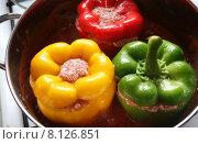 Купить «food green red healthy fresh», фото № 8126851, снято 22 августа 2019 г. (c) PantherMedia / Фотобанк Лори