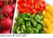 Купить «green red healthy yellow diet», фото № 8127327, снято 22 августа 2019 г. (c) PantherMedia / Фотобанк Лори