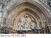 Церковь Сен-Северин в Париже (2013 год). Стоковое фото, фотограф Беличенко Анна Сергеевна / Фотобанк Лори
