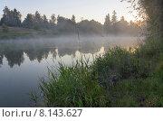 Купить «Скитский пруд в городе Сергиев Посад Московской области», фото № 8143627, снято 25 июля 2015 г. (c) Валерий Боярский / Фотобанк Лори
