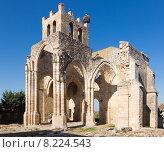 Купить «Ruins of Church of Santa Eulalia in Palenzuela», фото № 8224543, снято 22 мая 2019 г. (c) Яков Филимонов / Фотобанк Лори