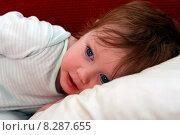 Купить «Маленькая девочка», фото № 8287655, снято 5 июня 2015 г. (c) Морозова Татьяна / Фотобанк Лори