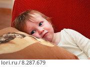Купить «Портрет маленькой девочки», фото № 8287679, снято 5 июня 2015 г. (c) Морозова Татьяна / Фотобанк Лори