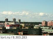 Купить «Спальный район. г. Санкт-Петербург», фото № 8303283, снято 27 июля 2015 г. (c) Ирина Новак / Фотобанк Лори